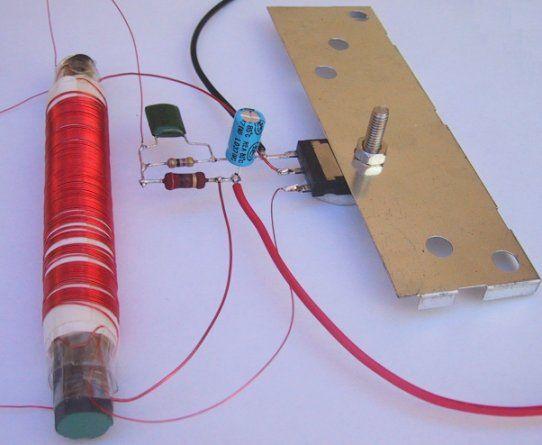 Project for 20 or 40 watt fluorescent tubes - Inverter ...