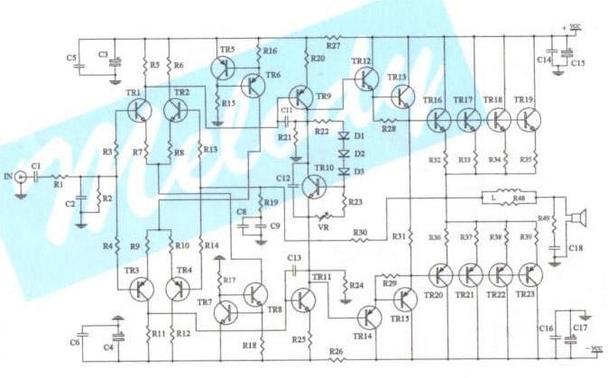 Make a Power amp 400 w