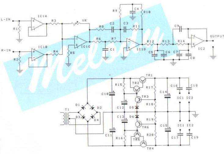 Circuit Diagram Active Passive Subwoofer Lets You Enjoy