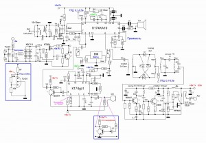 Circuit Receiver Schematics Radio Chip for hobby
