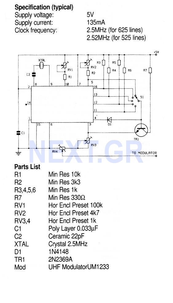 TV Pattern Generator ZNA234E