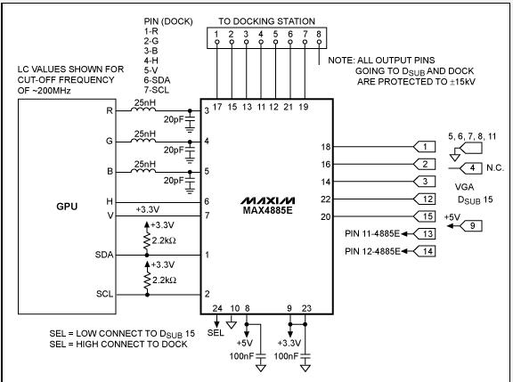 Circuit Diagram Laptop Lcd Display To Vga Interface