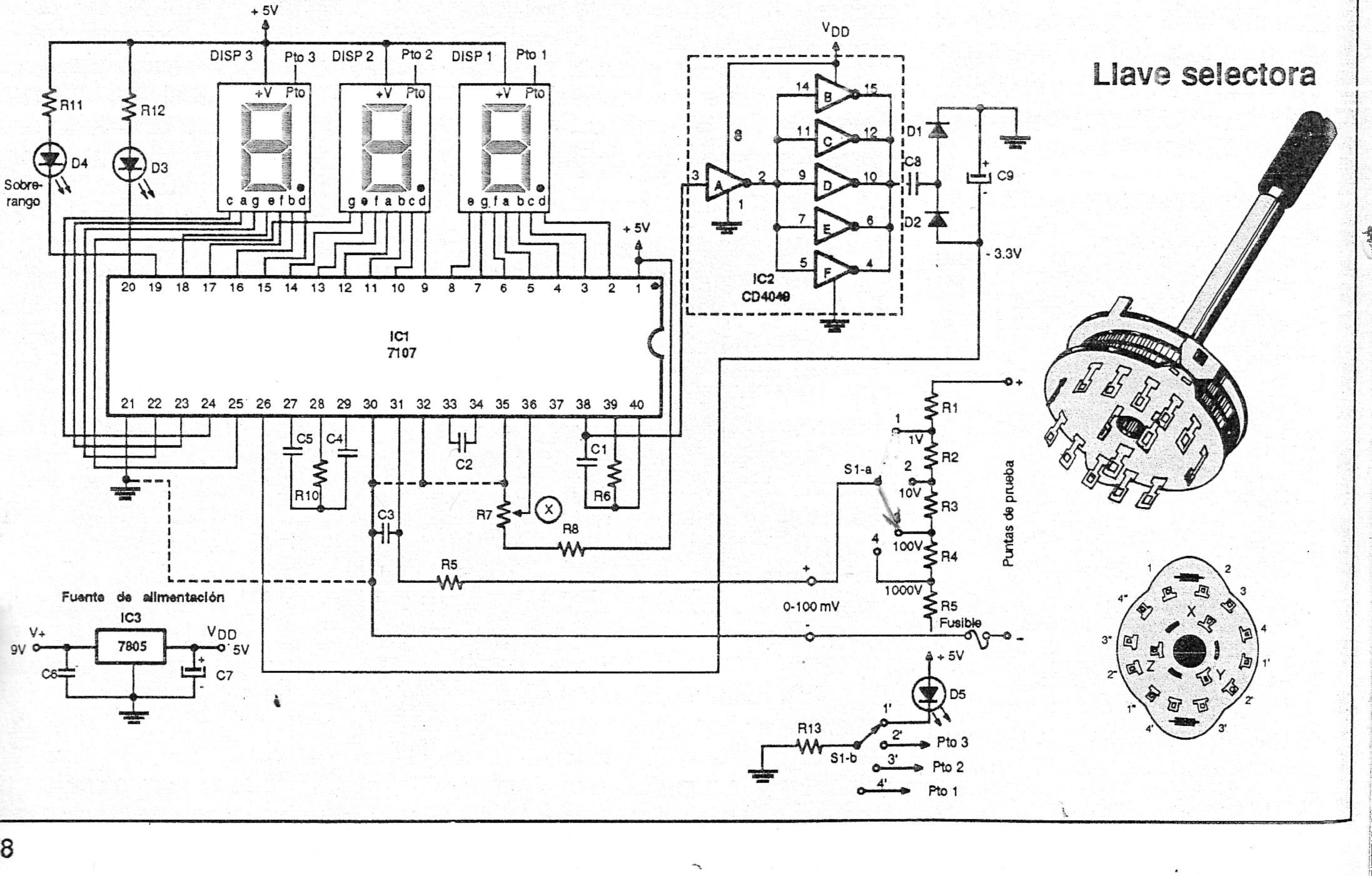 Circuit Diagram Segment Led Using L7107 Wiring Site For Circuits Single Series Connection Parallel Electronic Simple