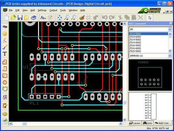 Colorful Free Pcb Software Elaboration - Electrical Circuit Diagram ...