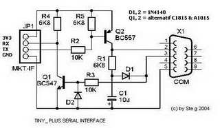 usb to serial port adapter Electronic Circuit Diagram