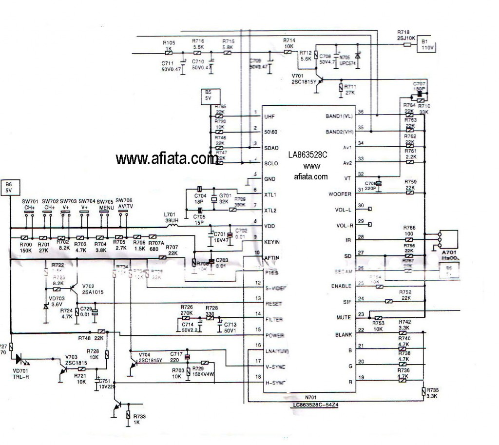 electronics repair made easy: Chanwong tv-china- see circuit below ... | tv circuits from china