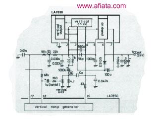 Computer Monitor Repair using LA7830