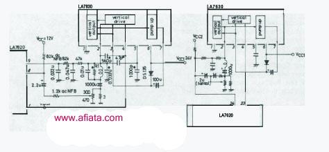 LA7830 for Computer Monitor Repair and Color TV