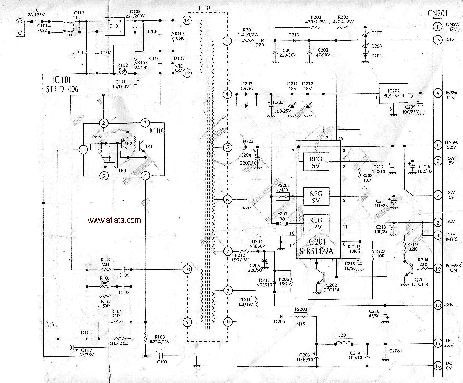panasonic tv powersuply | electronic circuit diagram and ... coby tftv4028 lcd tv wiring diagrams panasonic tv wiring diagrams #8