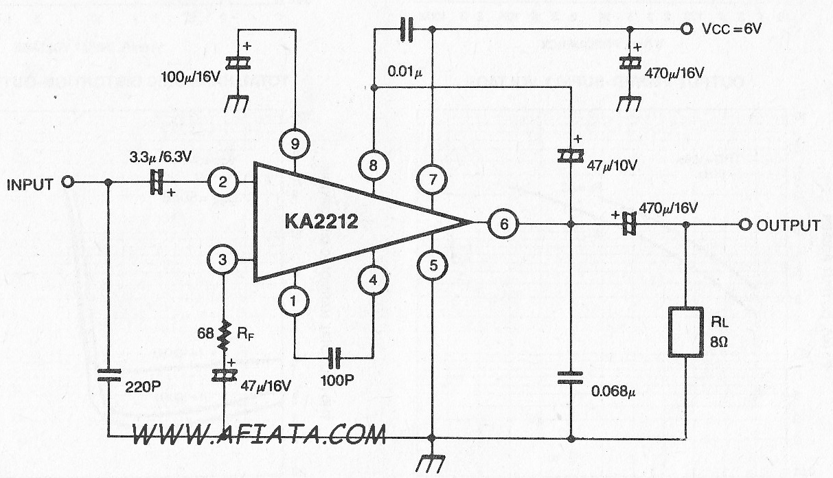 Index Of Wp Content Uploads 2010 04 6 10w Audio Amplifier With Ic Tda2002 Circuit Diagram 05w Power Using Ka2212