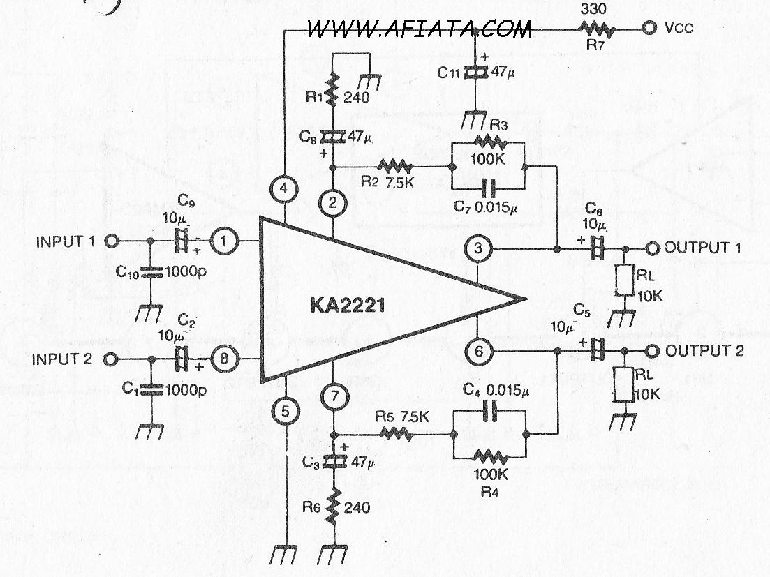 dual low noise equalizer amplifier circuit electronic. Black Bedroom Furniture Sets. Home Design Ideas