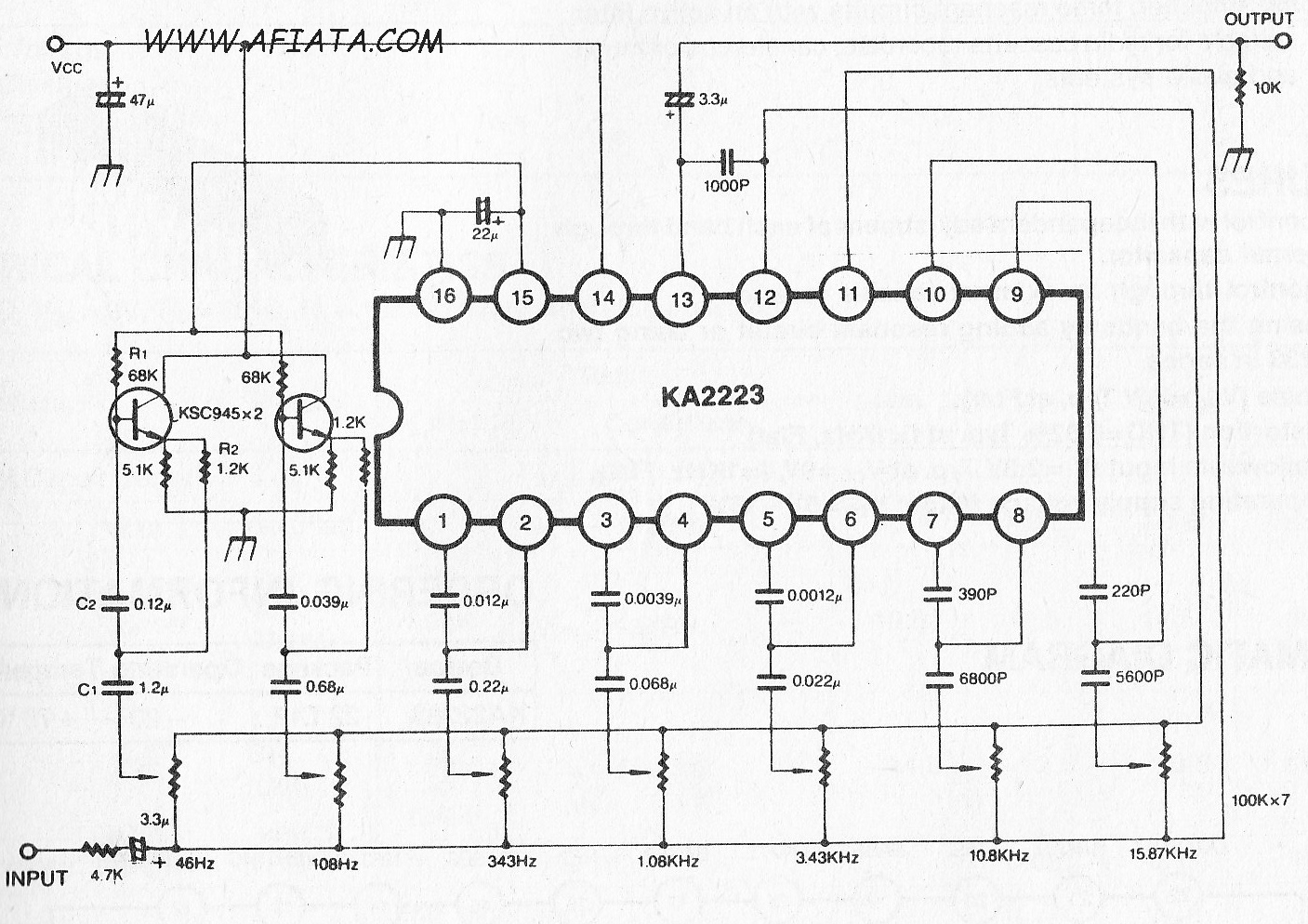 5 BAND Audio GRAPHIC EQUALIZER | Electronic Circuit Diagram ...  Band Equalizer Schematic on compressor schematic, 5 band equalizer bass, vocoder schematic, 5 band equalizer settings, 5 band graphic equalizer,