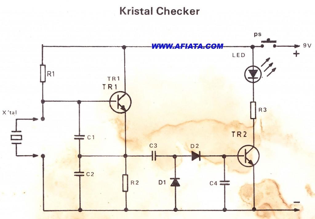 Kristal Checker - Krystal Detector circuit