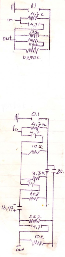 Audio Filter Circuit without voltage
