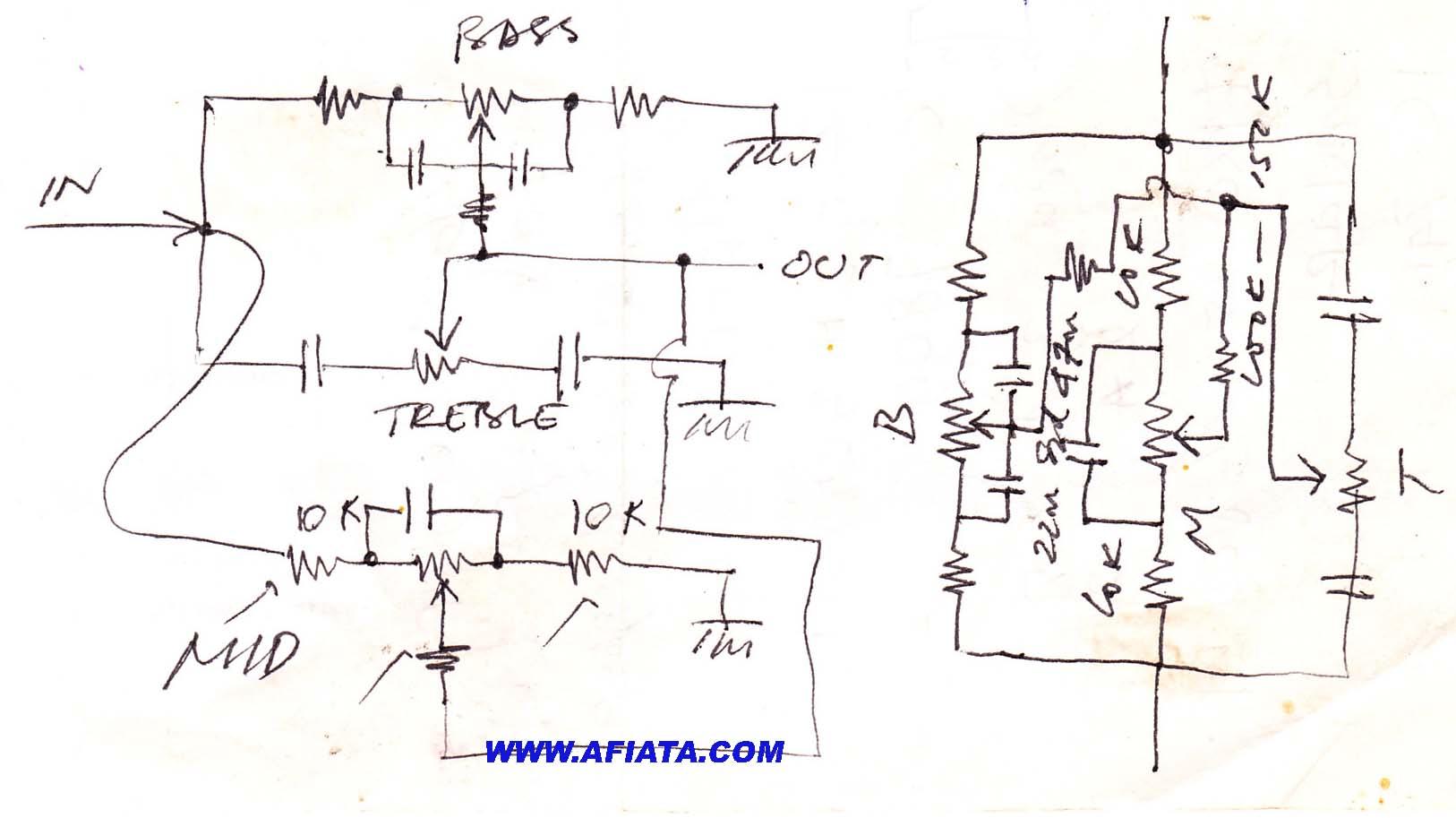 bass treble circuit diagram - wirdig, Circuit diagram