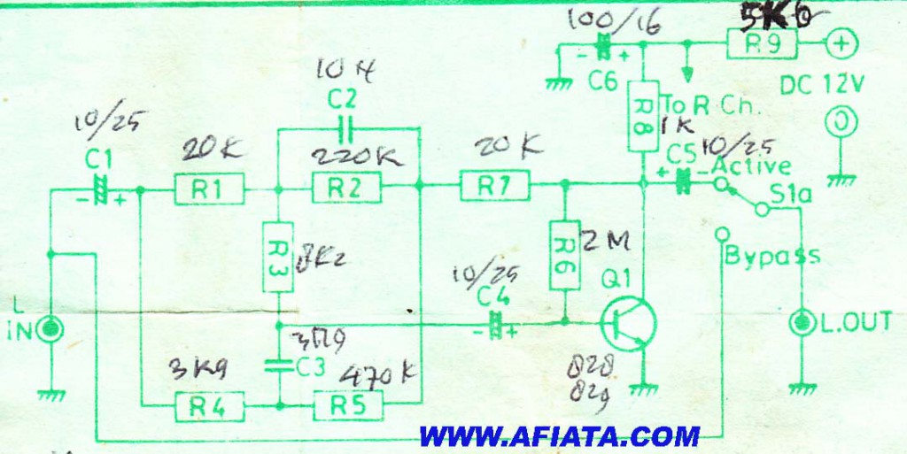 op amp circuit using tr c828