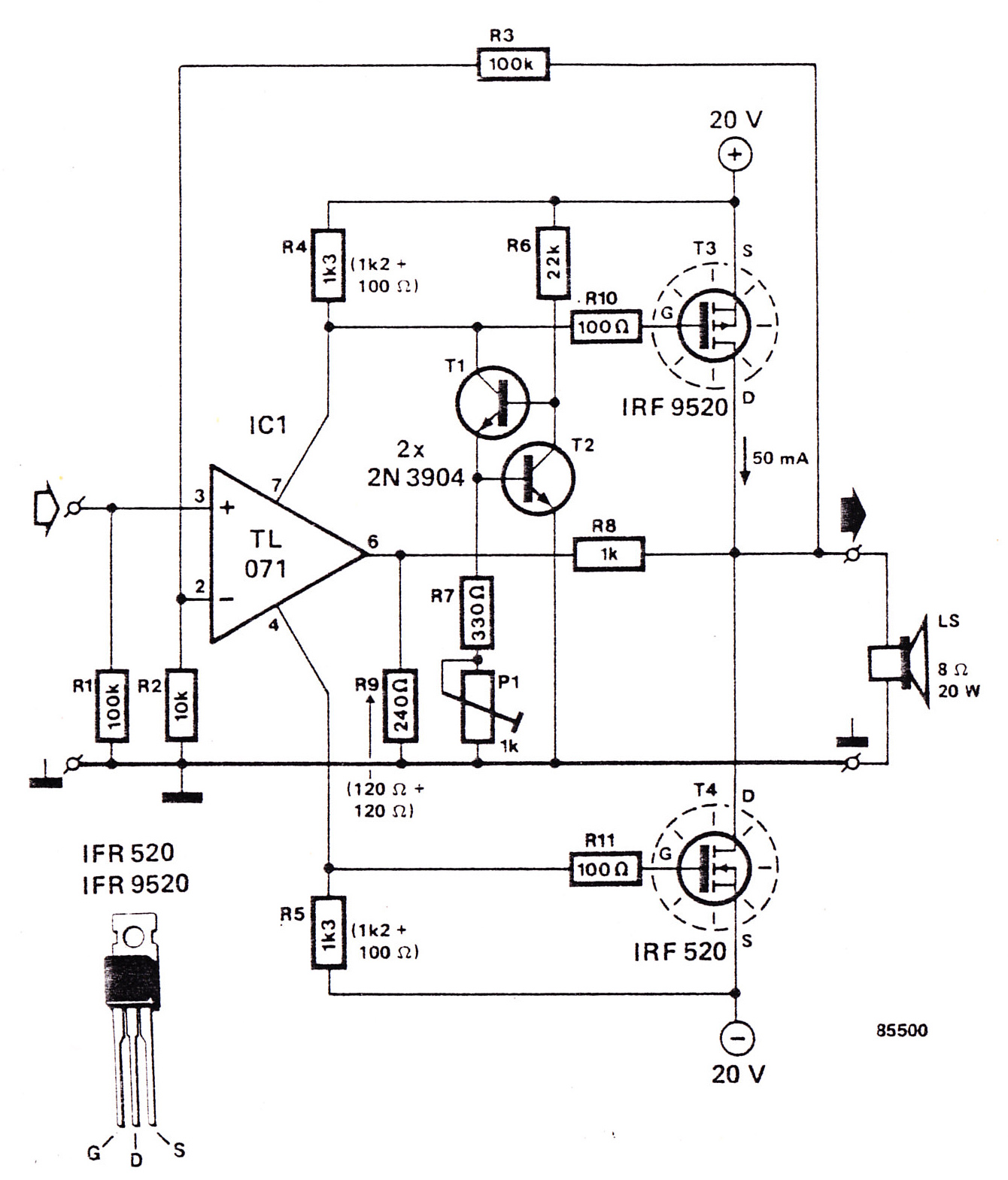 Circuit Diagram Of Digital Volume Control Wiring Diagrams Potentiometer Stereo Controls Audio Amplifier Electronic And Layout Speaker In Line Level
