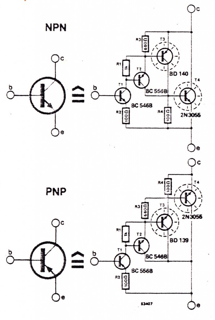 Pnp Transistor Electronic Circuit Diagram And Layout