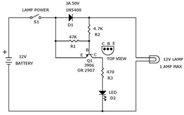 12 volt light bulbs circuit for voltage monitoring electronic circuit diagram and layout. Black Bedroom Furniture Sets. Home Design Ideas