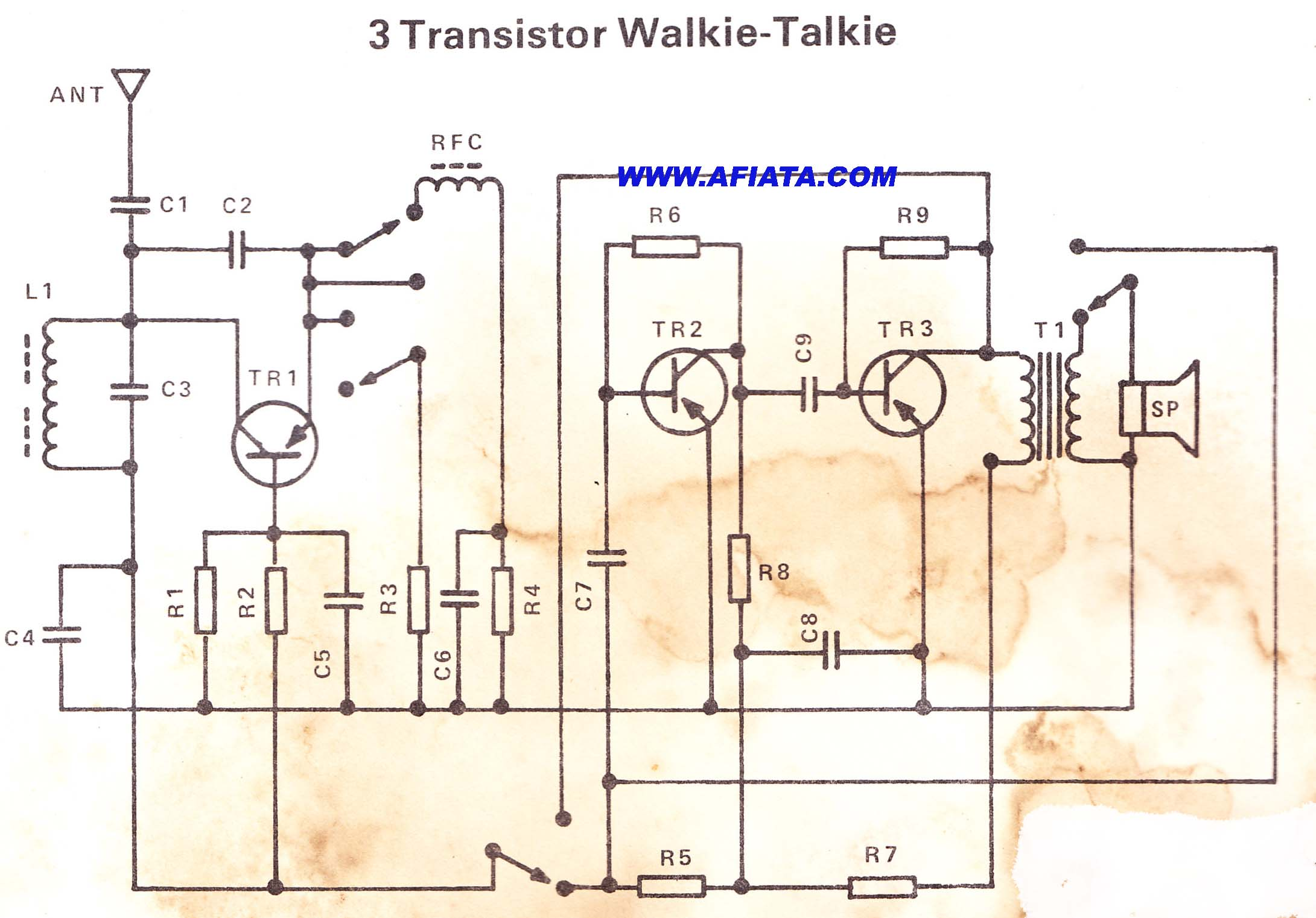 Circuit Walkie Talkie Complete Both – Fondos de Pantalla on