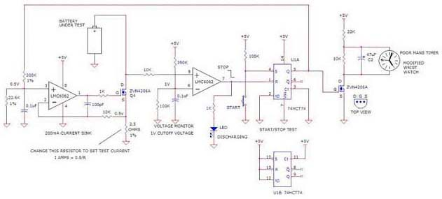 battery control charger circuit diagram
