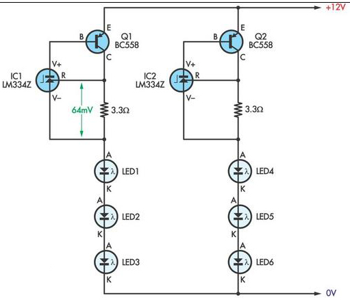 higher brightness variable circuit