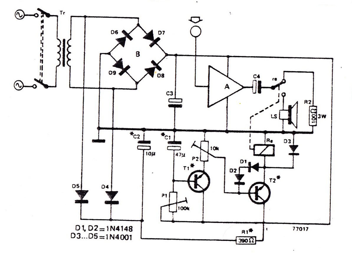 Intercom Switch Circuit
