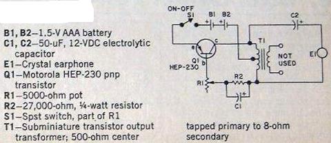 Angler Bite Booster Circuit using HEP230