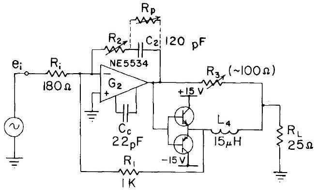Relay Driver circuit using NE5534, LDR - Light Dependent Resistor