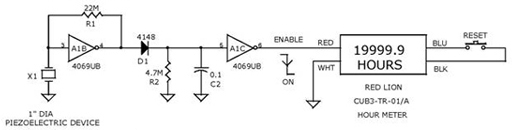 Vibration Control Switch Circuit using 4069UB