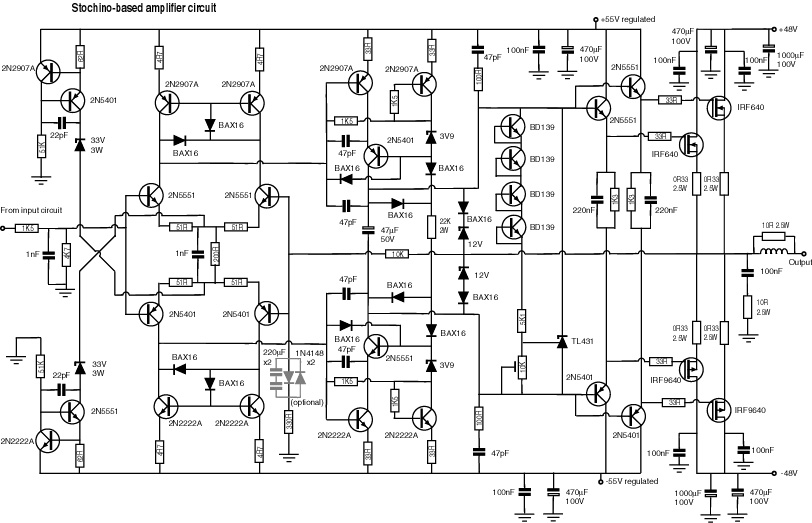 big power amplifier circuit