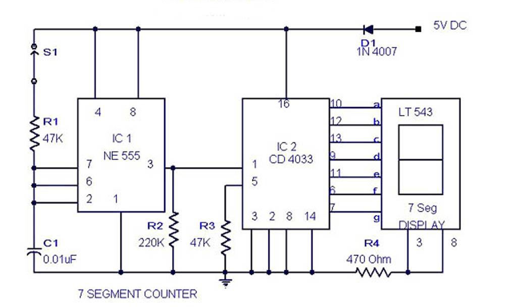 Segment Counter Circuit