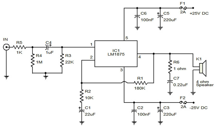 Free Schematic 20W amplifier using LM1875 kenwood dnx890hd wiring diagram wiring diagram kenwood dnx890hd wiring diagram at honlapkeszites.co