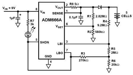 NiMH CHARGER Circuit diagram