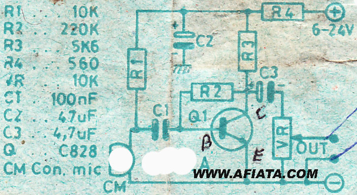 simple mic preamp circuit electronic circuit diagram and layout rh afiata com
