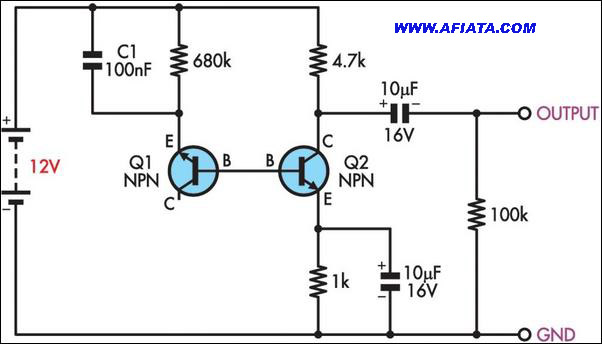 audio generator circuit