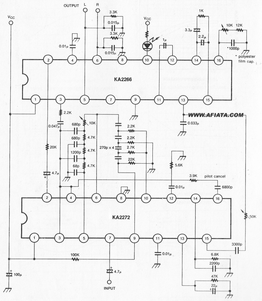 DOLBY  NOISE REDUCTION PROCESSOR using KA2266