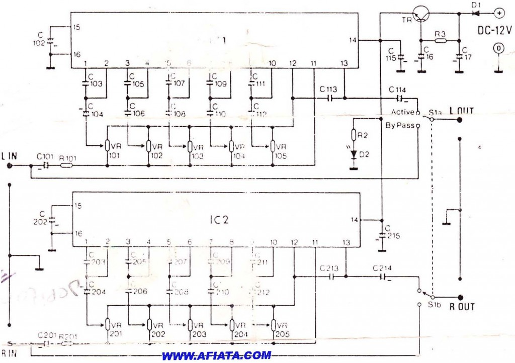 Equalizer Circuit Using LA3600