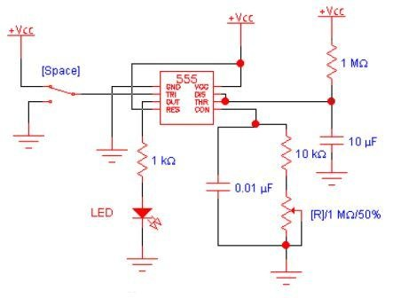 lm555 lm555c timer Circuits