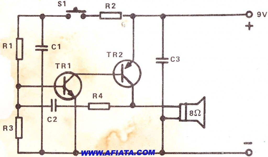police car siren circuit electronic circuit diagram and