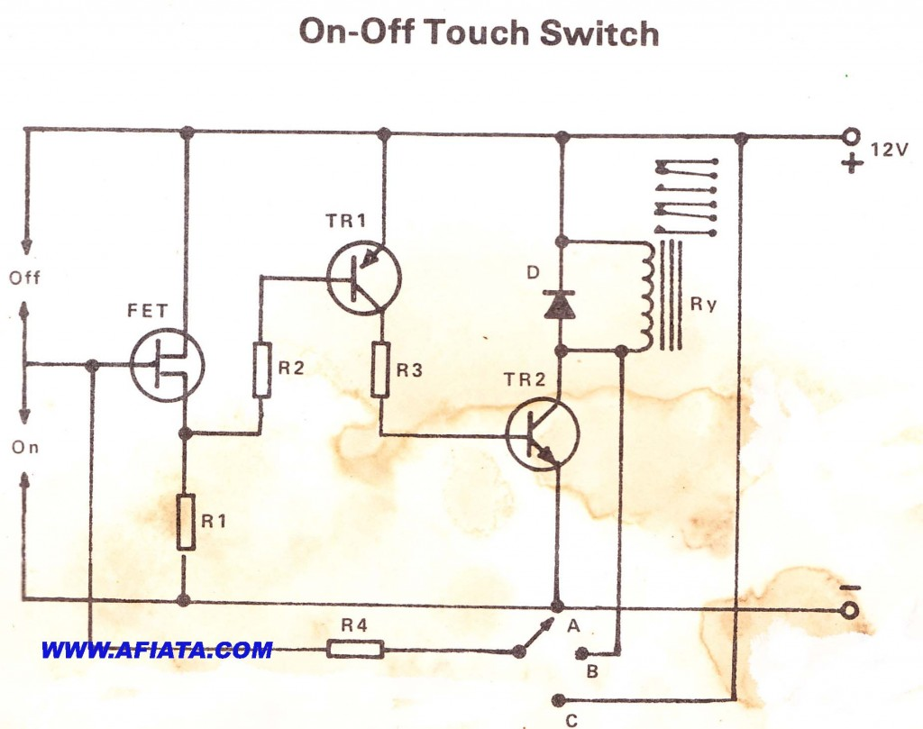 On Off Touch Switch
