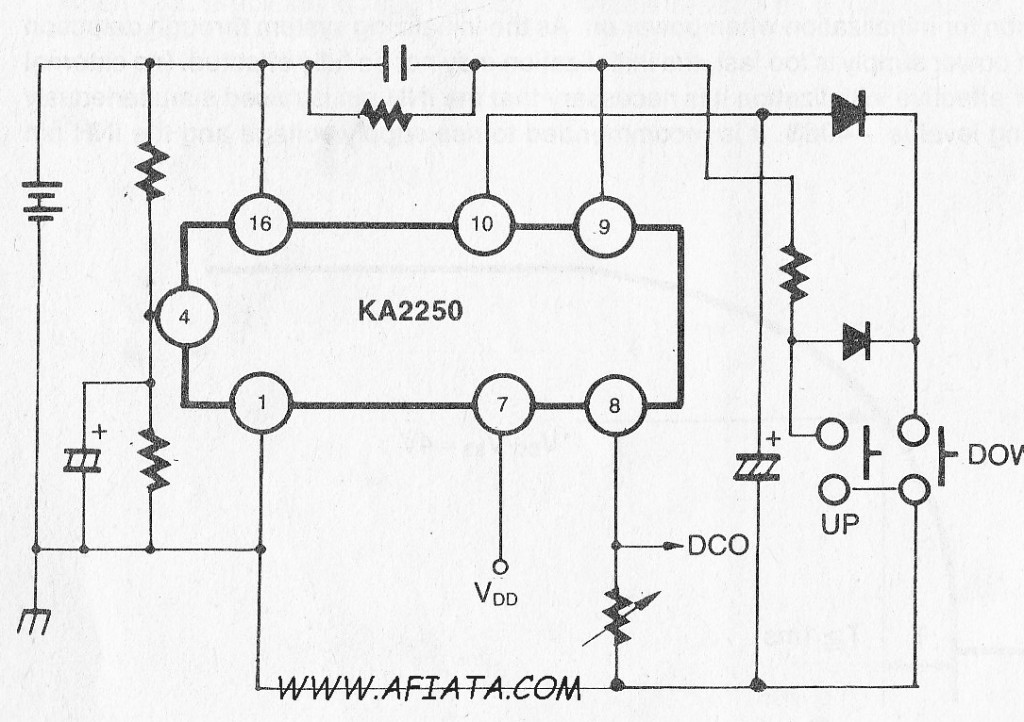 digital volume control circuit