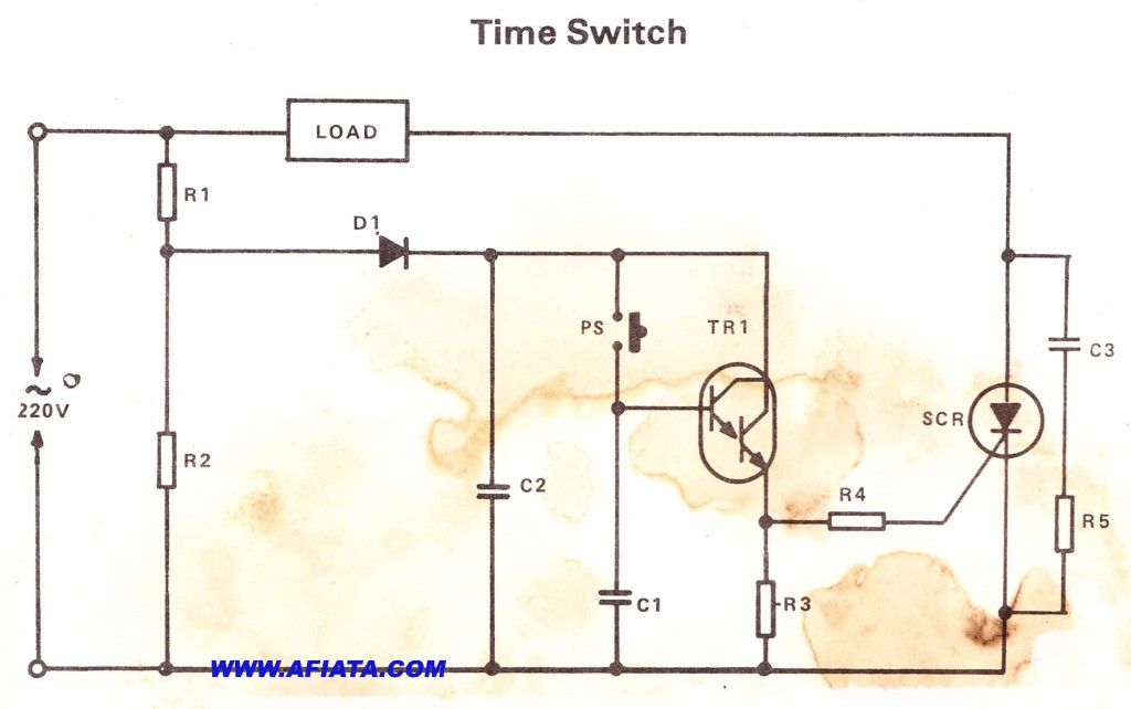 Automatic Transfer Switch | Electronic Circuit Diagram and Layout