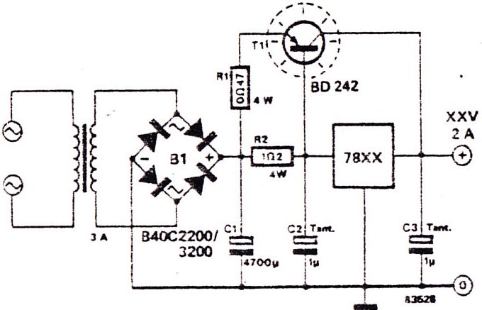 dc voltage regulate circuit