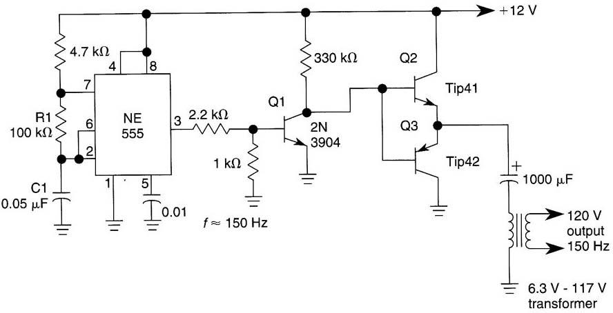 simple inverter circuit