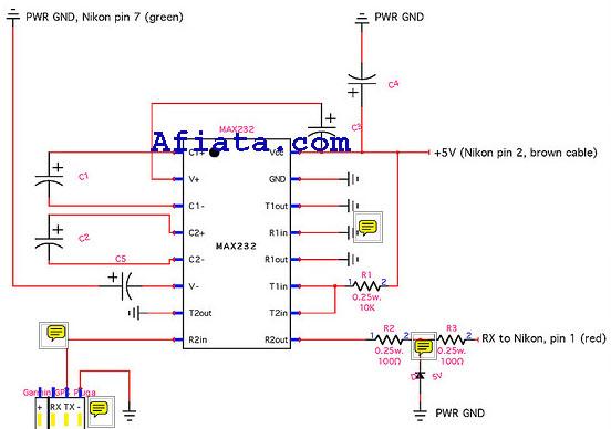 Nikon gps circuit