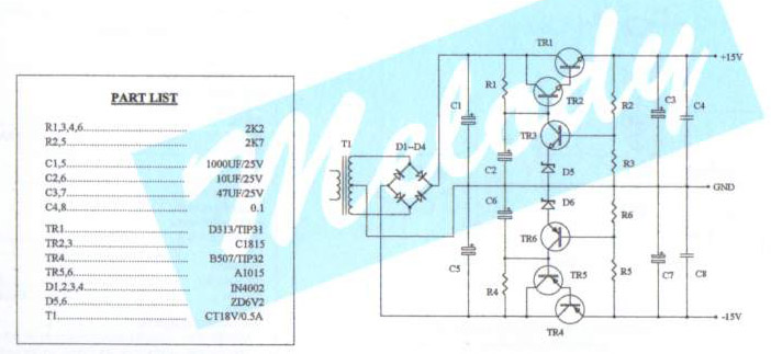 Transformerless Power Supply Design