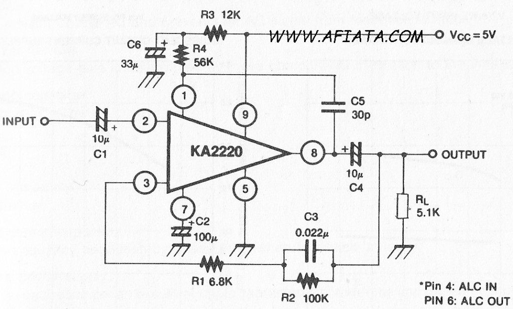 amplifier electronic circuit