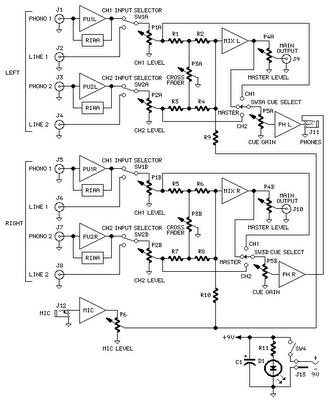 mic mixer circuit