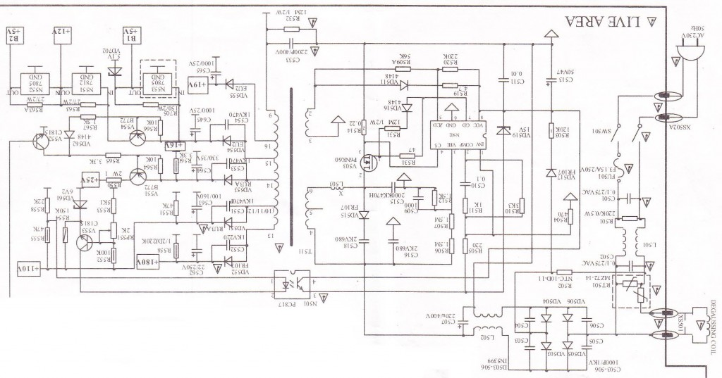 toshiba crt tv schematic diagram  toshiba  free engine